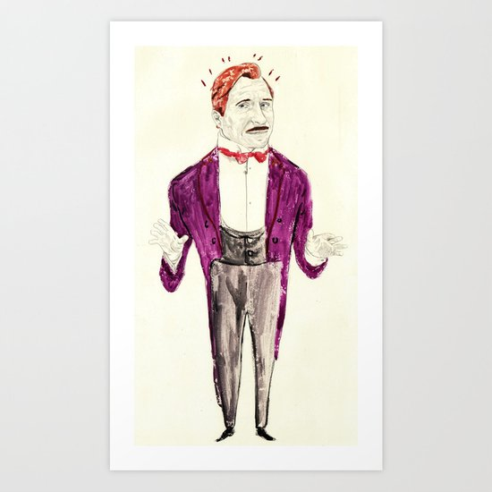 M. Gustave H Art Print