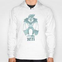 yeti Hoodies featuring Yeti by gajuscd