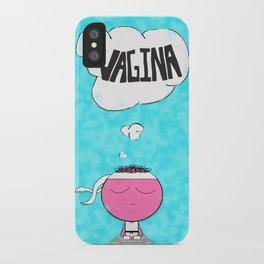 ...Vagina... iPhone Case