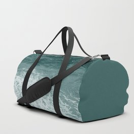 Sea Foam Monochrome Duffle Bag