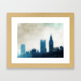 The Many Steepled London Sky Framed Art Print