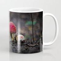 mushroom Mugs featuring mushroom by Kalbsroulade