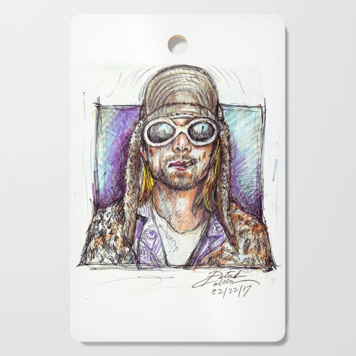 Cobain Cutting Board
