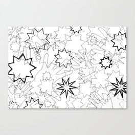 Hands and Stars Canvas Print