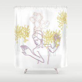 Africana Shower Curtain
