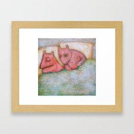 Are You Sleeping? Framed Art Print