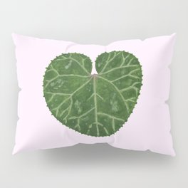 Cyclamen leaf - pink Pillow Sham