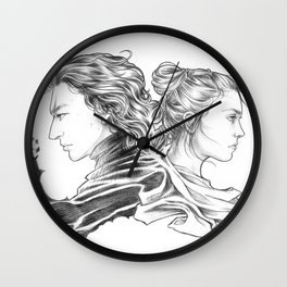 Reylo - Nemesis Wall Clock