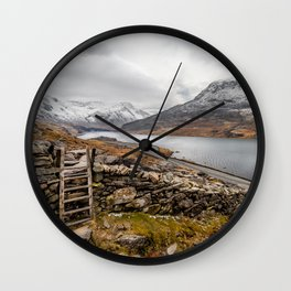 Ogwen Valley Wall Clock