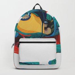 broken pieces Backpack