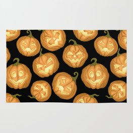 Halloween pumpkins Rug