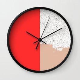 Mid Sun Wall Clock