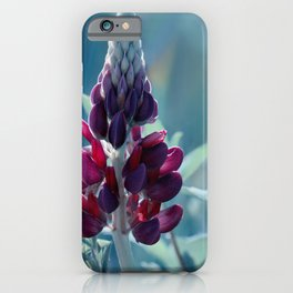 Lupine Blue 135 iPhone Case
