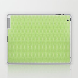 hopscotch-hex bright green Laptop & iPad Skin