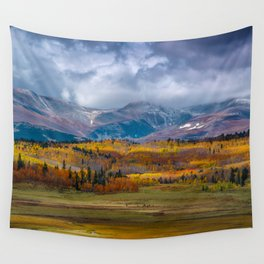 Fall in the Rockies Wall Tapestry