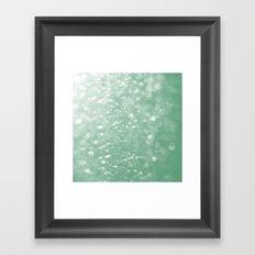 Sage Sparkles Framed Art Print