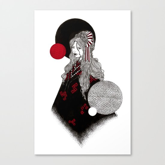 False Innocence Canvas Print