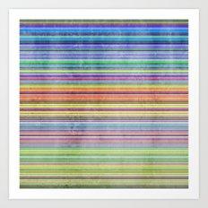 Stripes I Art Print
