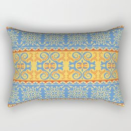 Traditional pattern of Eastern Central Asia Rectangular Pillow