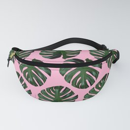 Pink Fronds Fanny Pack