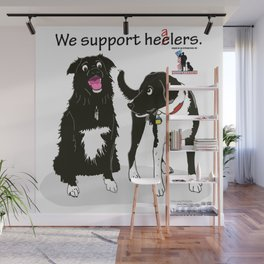 We Support Healers Wall Mural