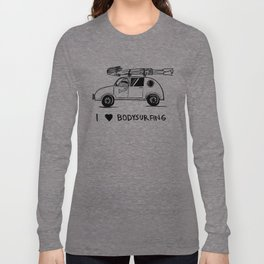 I HEART BODYSURFING Long Sleeve T-shirt