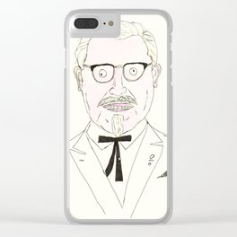 The Colonel Clear iPhone Case
