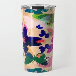 Butterflies on board Travel Mug