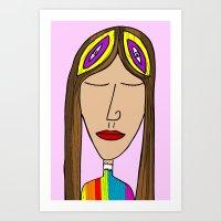 nasa Art Prints featuring Nasa by Joe Pansa