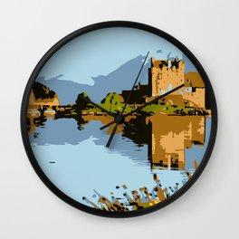 Eilean Donan Castle  Wall Clock