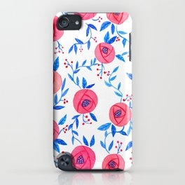 Watercolour Florals iPhone Case