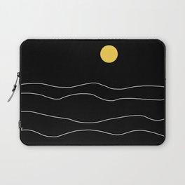Black Ocean Laptop Sleeve