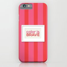 Color is Brave iPhone 6s Slim Case