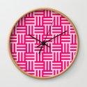 pink modern line pattern by loveart69