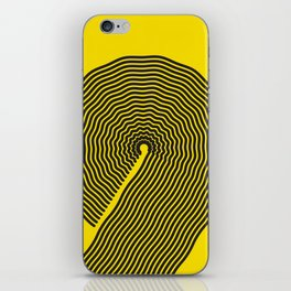 wobbly 9 iPhone Skin