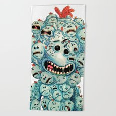 Mee All-Over Mee Beach Towel