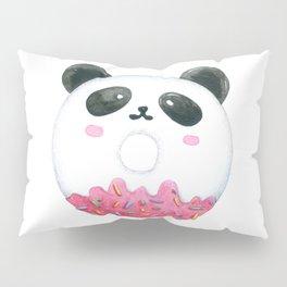 Panda Donut Art Work Pillow Sham