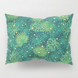 Tropical Gold Dots Pillow Sham