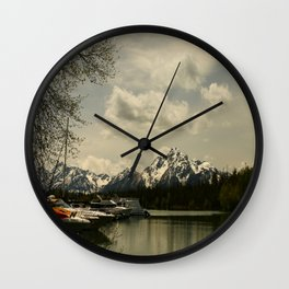 Natures Art Wall Clock