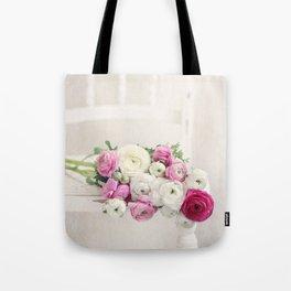Playful Petals Tote Bag