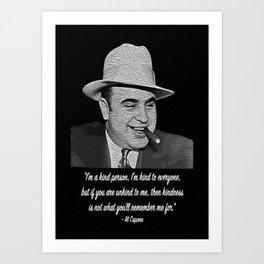 Al Capone Art Print