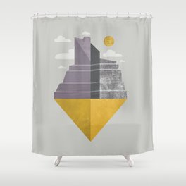 Grand Canyon slice Shower Curtain
