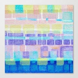 Watercolor pastels Canvas Print