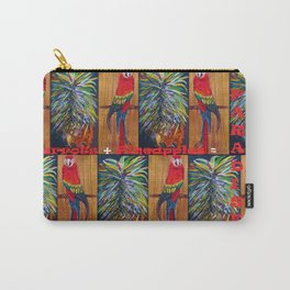 Parrots and Pineapples Carry-All Pouch