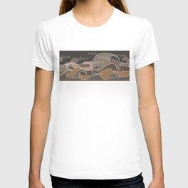 Waves V earth colors V Duffle Bags T-shirt