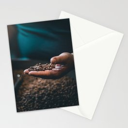 Roasted Coffee 3 Stationery Cards