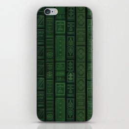 "Extravagant Design Series: Vertical Book Pattern ""Bookbag"" iPhone Skin"