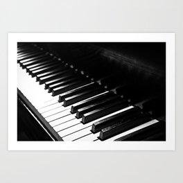 Piano 2 Art Print