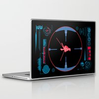 nasa Laptop & iPad Skins featuring Tie Fighter Meets NASA Voyager 1 by Ryan Huddle House of H