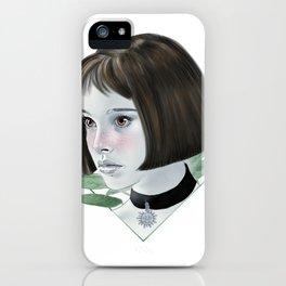 Mathilda illustration iPhone Case
